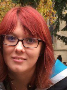 PhD student Emma Radclyffe